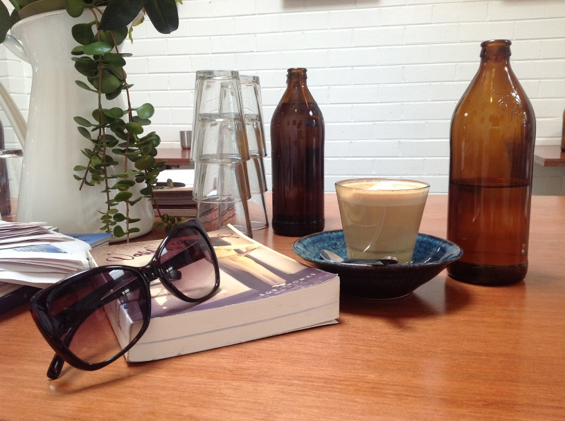 This is the lifestyle of an Arts student: coffee, books, and more writing...